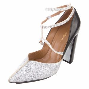 3.1 Phillip Lim Pointed Toe Leather Pumps